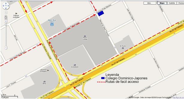 mapa Bon Odorileyenda